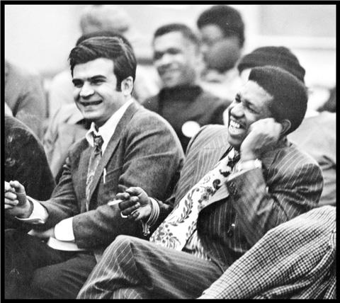 Hussein and Ed Carpenter in Concert in School