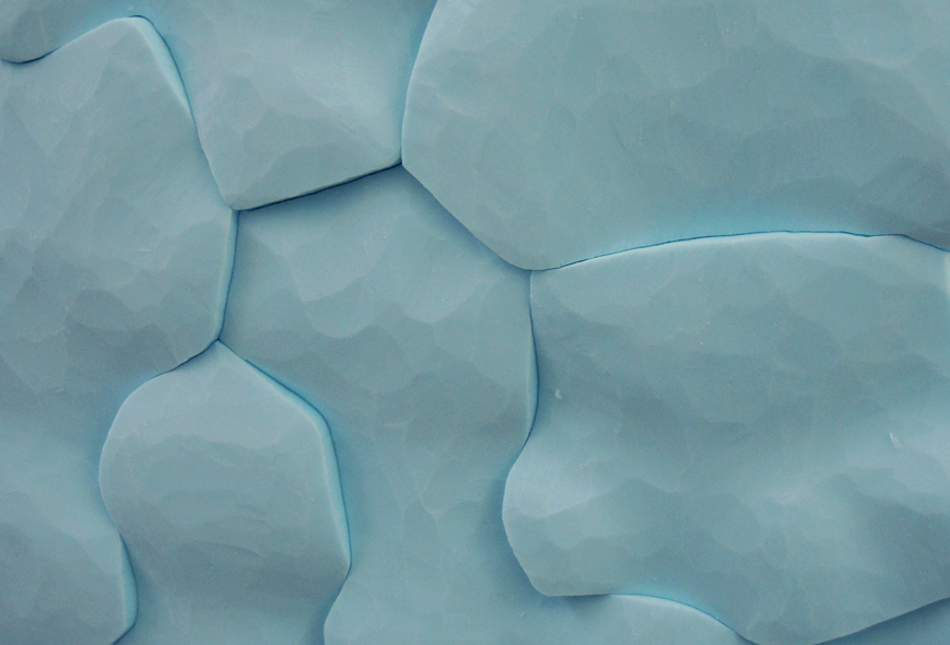 Body of water, your body #2, 2013. Styrofoam, detail