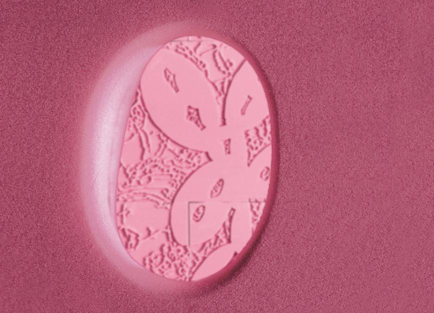 The Garden of Eden, 2002-2004.  Styrofoam, 10' x 10' x 10', detail wall perforation.