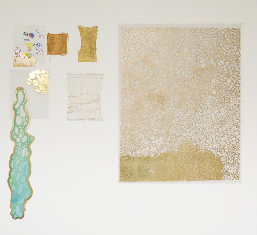El Dorado, installation view, 2008-14.Wall 2, dimension variable.