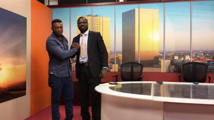 Sons and John Appiah - at Tv3 studios