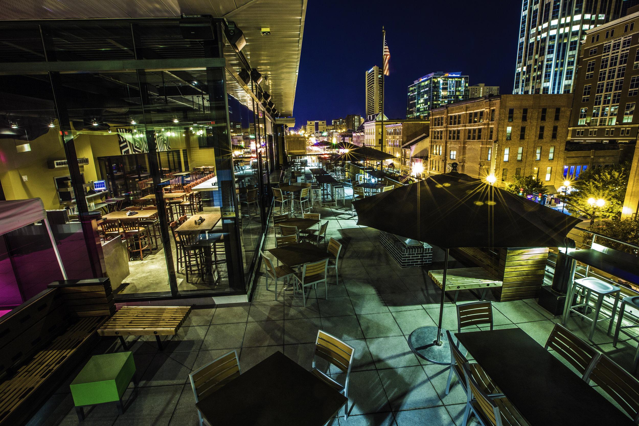 Nashville Rooftop - Rock Bottom Restaurant & Brewery
