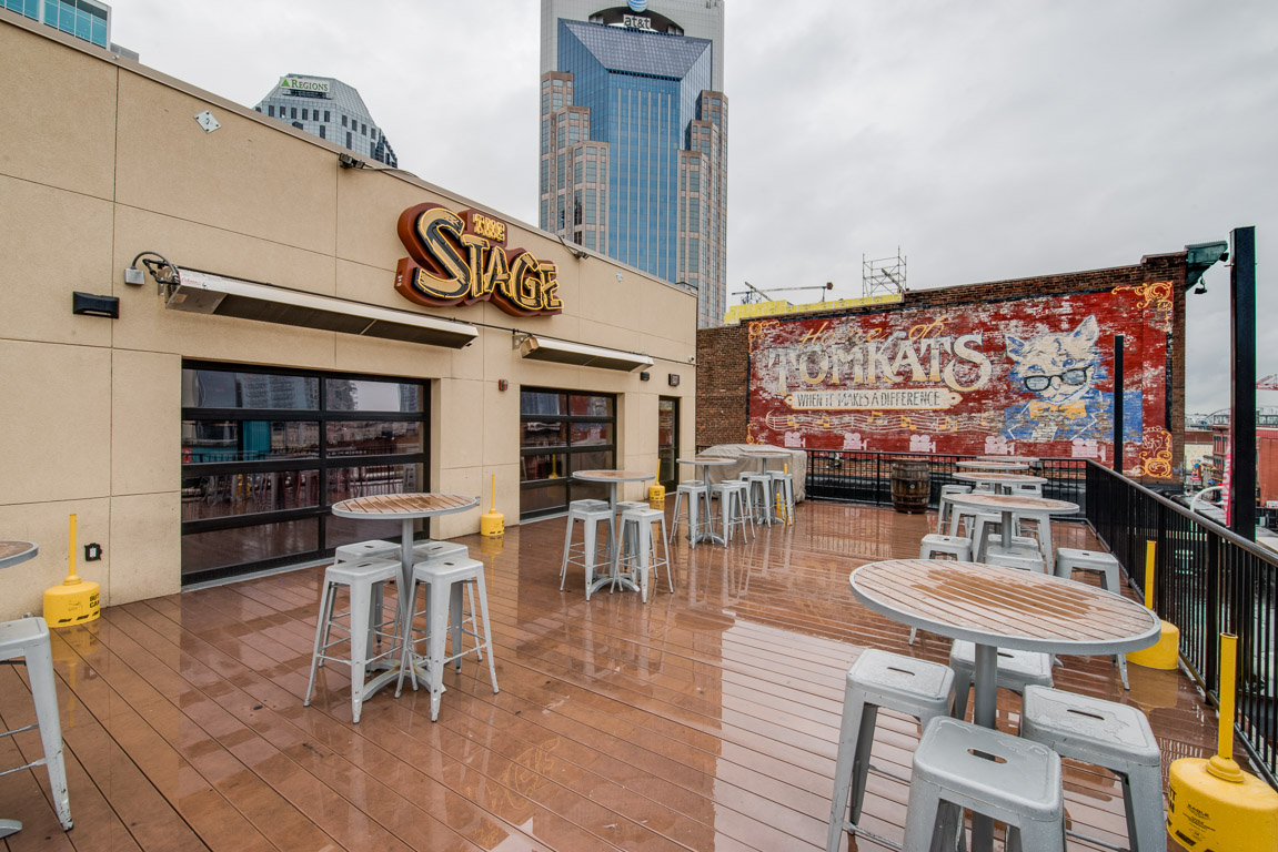 Nashville Rooftop - The Stage on Broadway