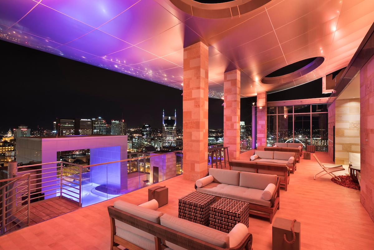 Nashville Rooftop - L27 Rooftop Bar The Westin Nashville