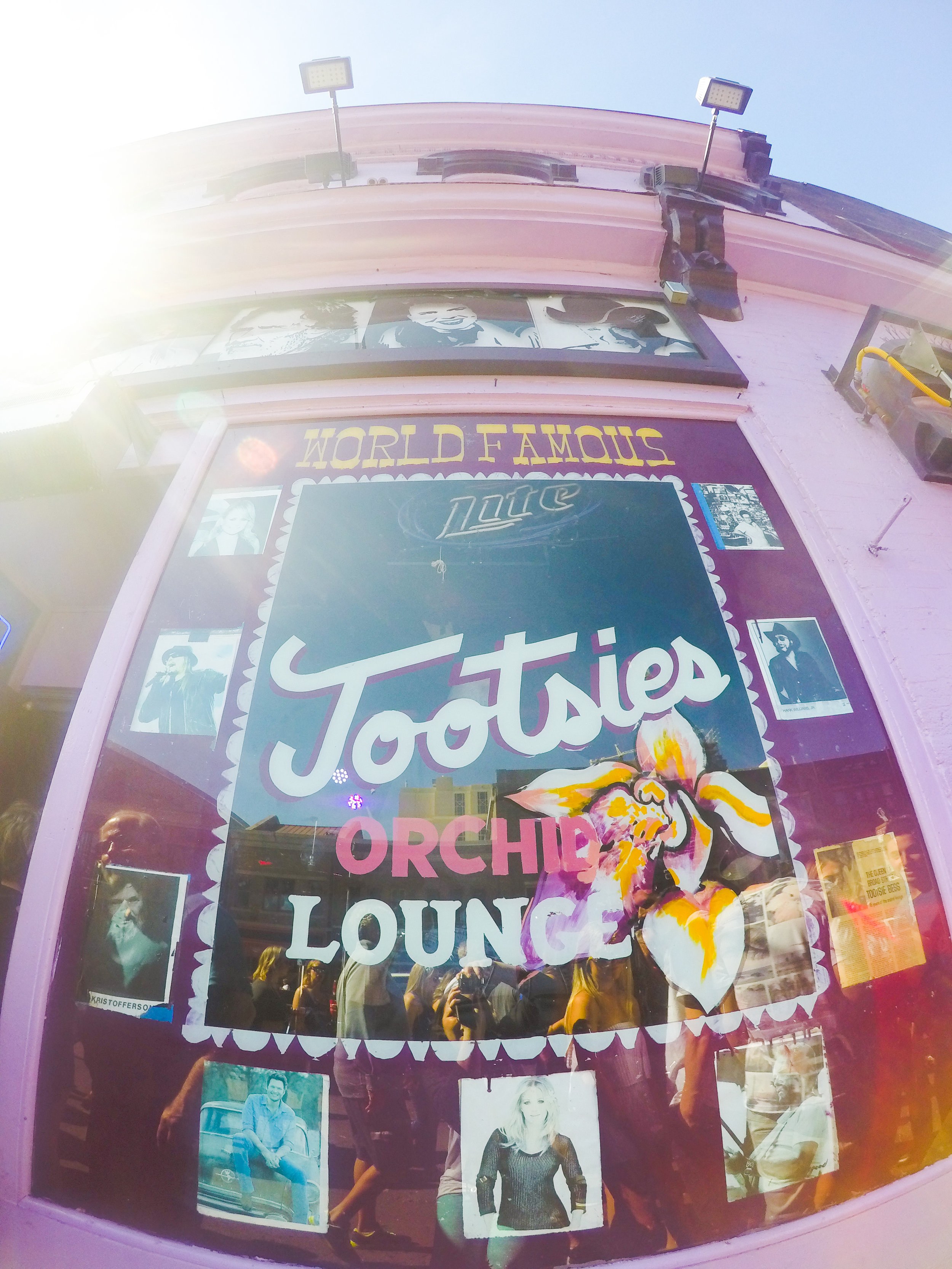 Nashville Rooftop - Tootsies World Famous Orchid Lounge