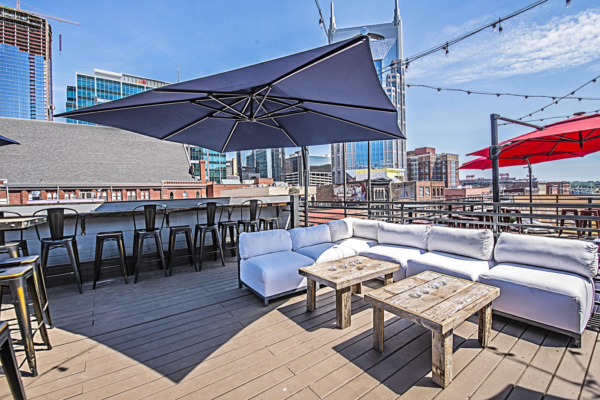 Nashville Rooftop - Mellow Mushroom Broadway