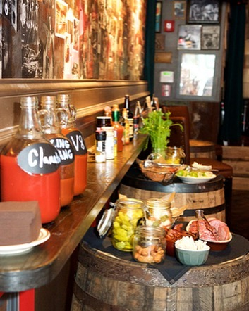 Bottomless Mimosas - Sutler Saloon - Bloody Mary Bar