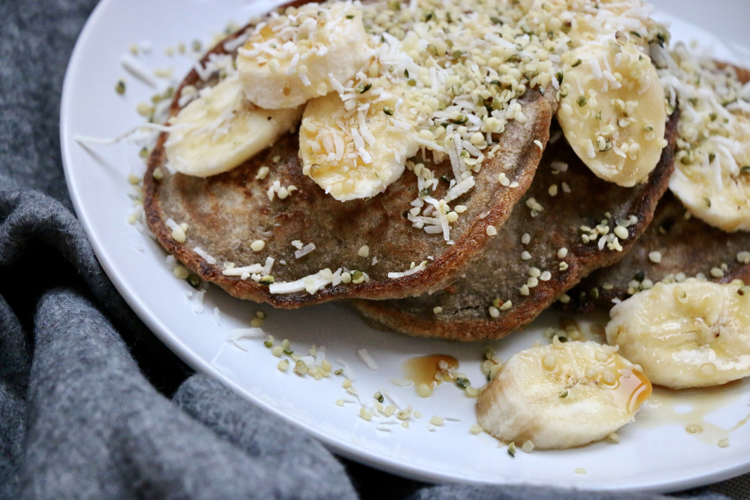 Buckwheat Pancakes Ready To Nourish