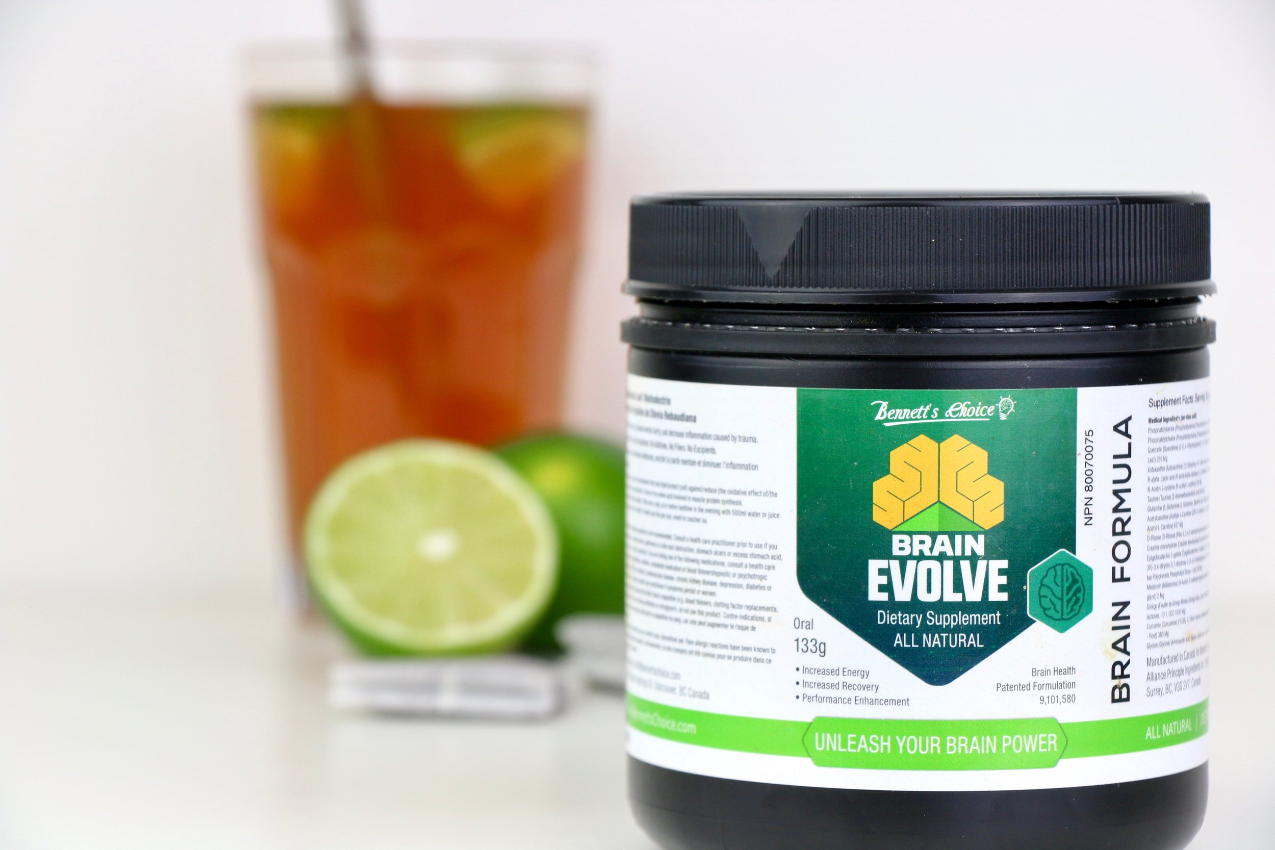 Empower Brain Energy - Promote Hormone Balance - Empower Brain Energy - Increase Mental Clari  ty!   Brain Evolve is the first US patented supplement that has demonstrated efficacy in reducing post concussion symptoms. It has received an approval from Health Canada and is NSF Certified for Sport as a concussion treatment product. $49.99 -  USE PROMOCODE 'READYTONOURISH' for 10% OFF