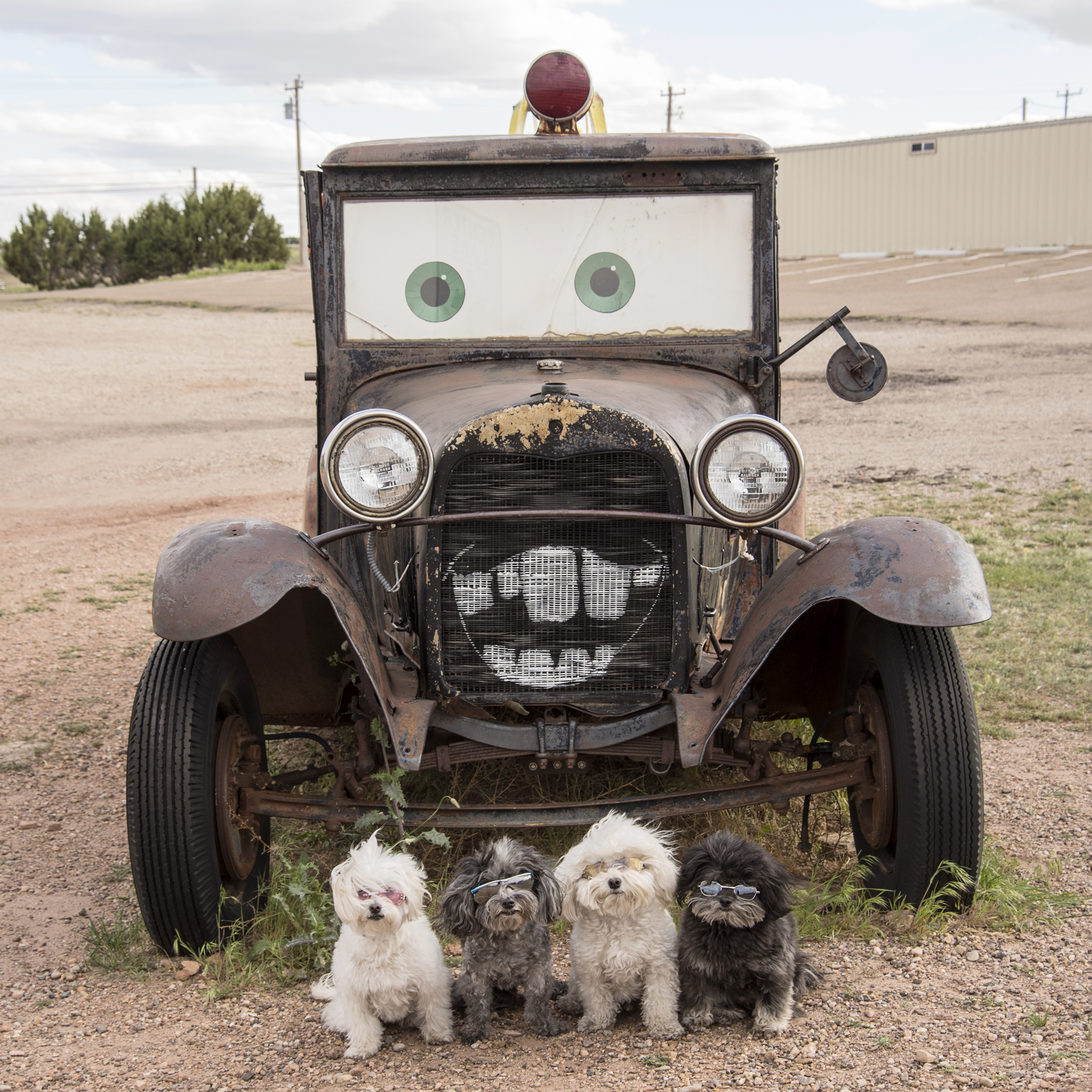 Look who we ran into in Santa Rosa, New Mexico!! It's Mater! Thank goodness we didn't need him…we just said hi!
