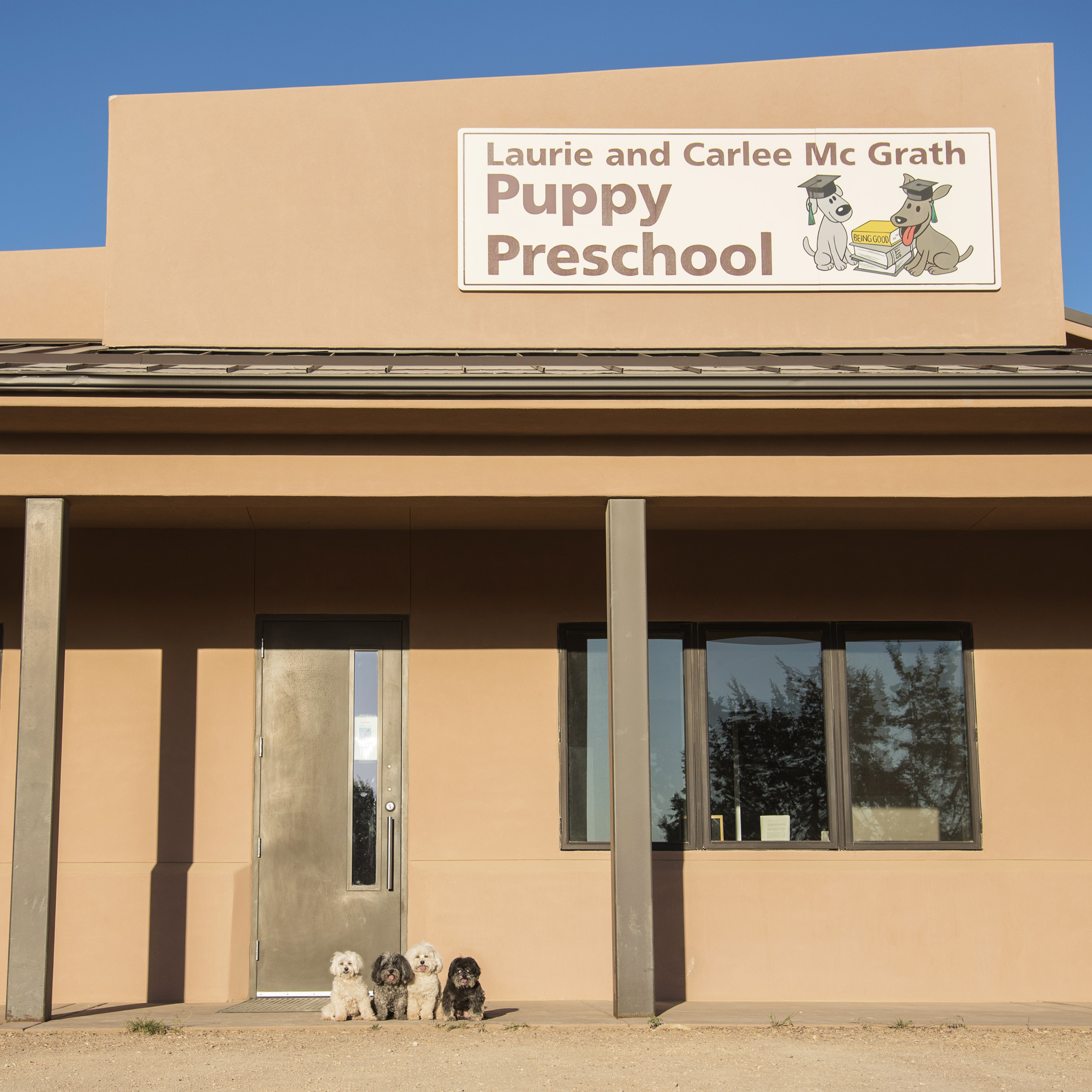Not surprisingly, Mommy was first in line to volunteer for Puppies! Ah, geez, Mom…don't get any silly ideas!!