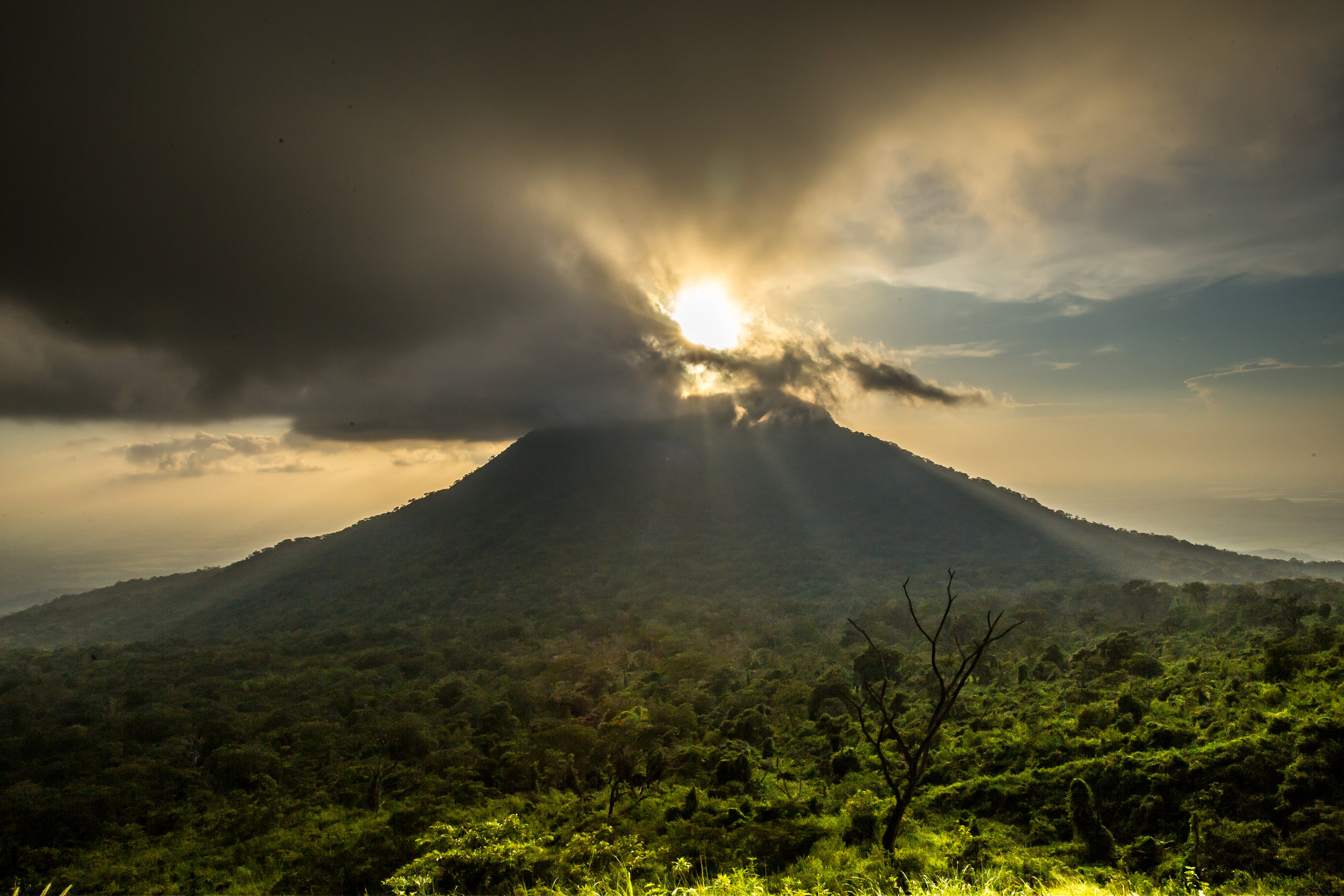 Sunset at Volcan Chonco