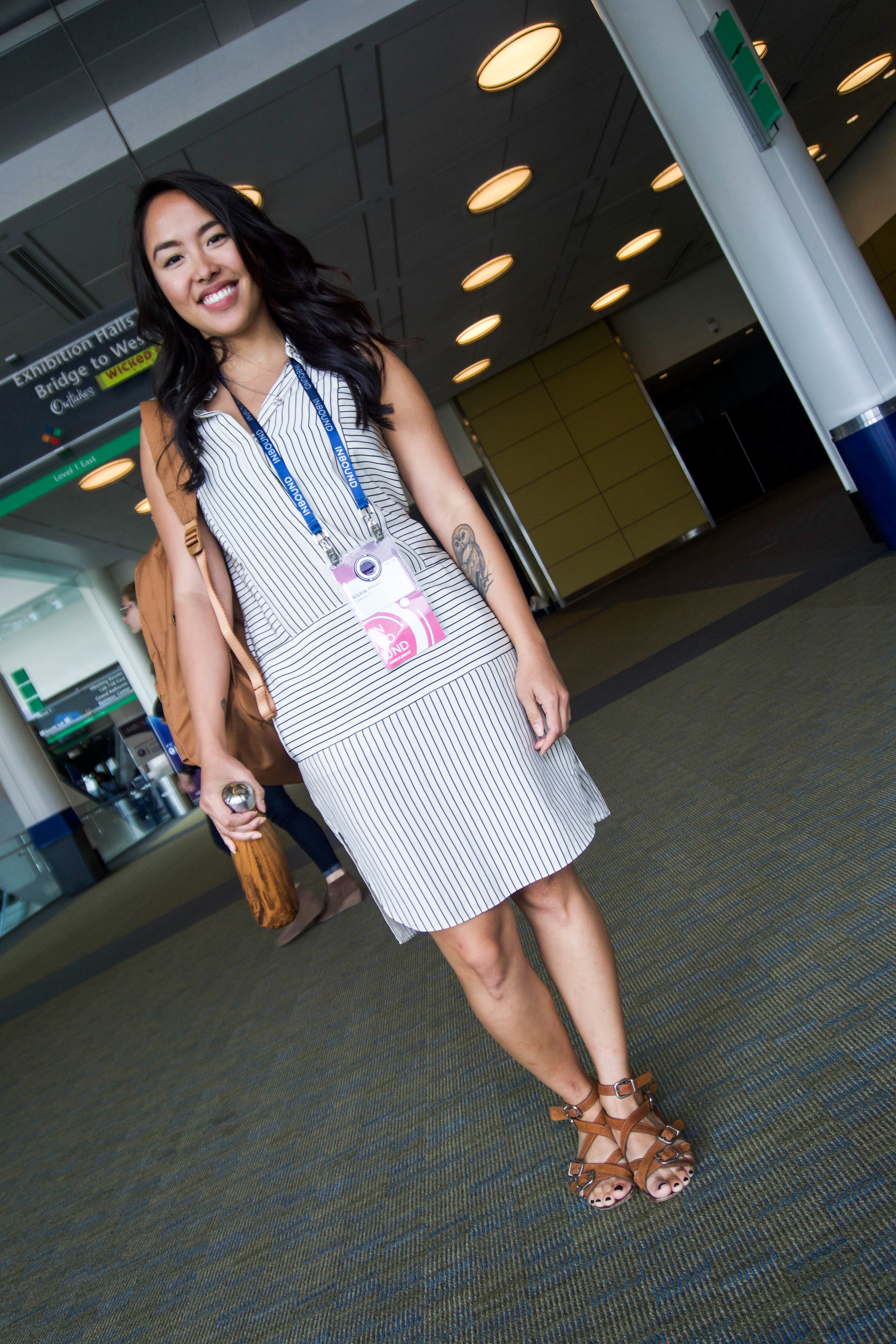Hubspot Inbound marketing conference - outfit - what to wear - boston convention center - fashion