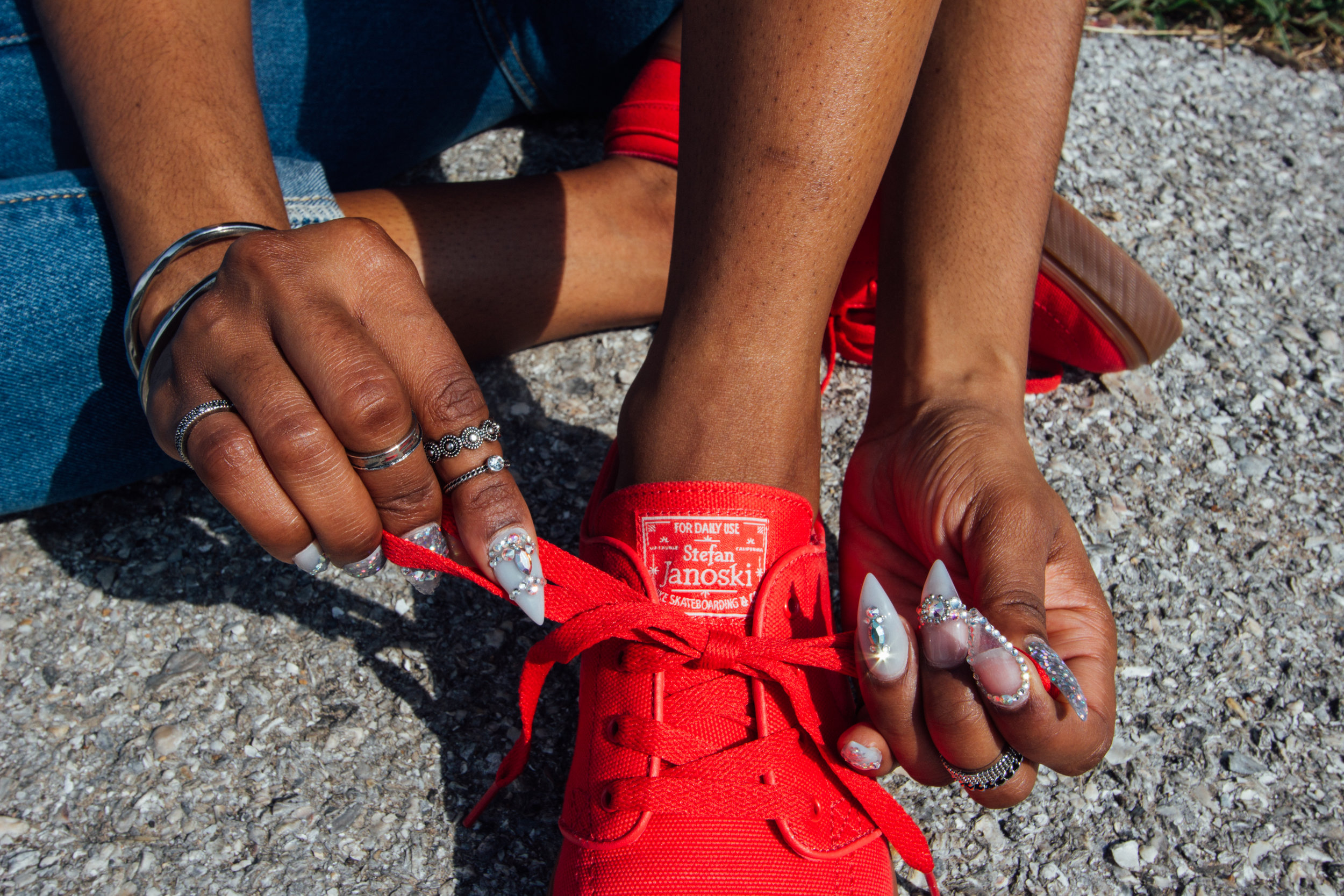 Top:   BTD   // Jeans:  Liquor N Poker (Asos) //  Shoes:  Stefan Janoski's (Nike)