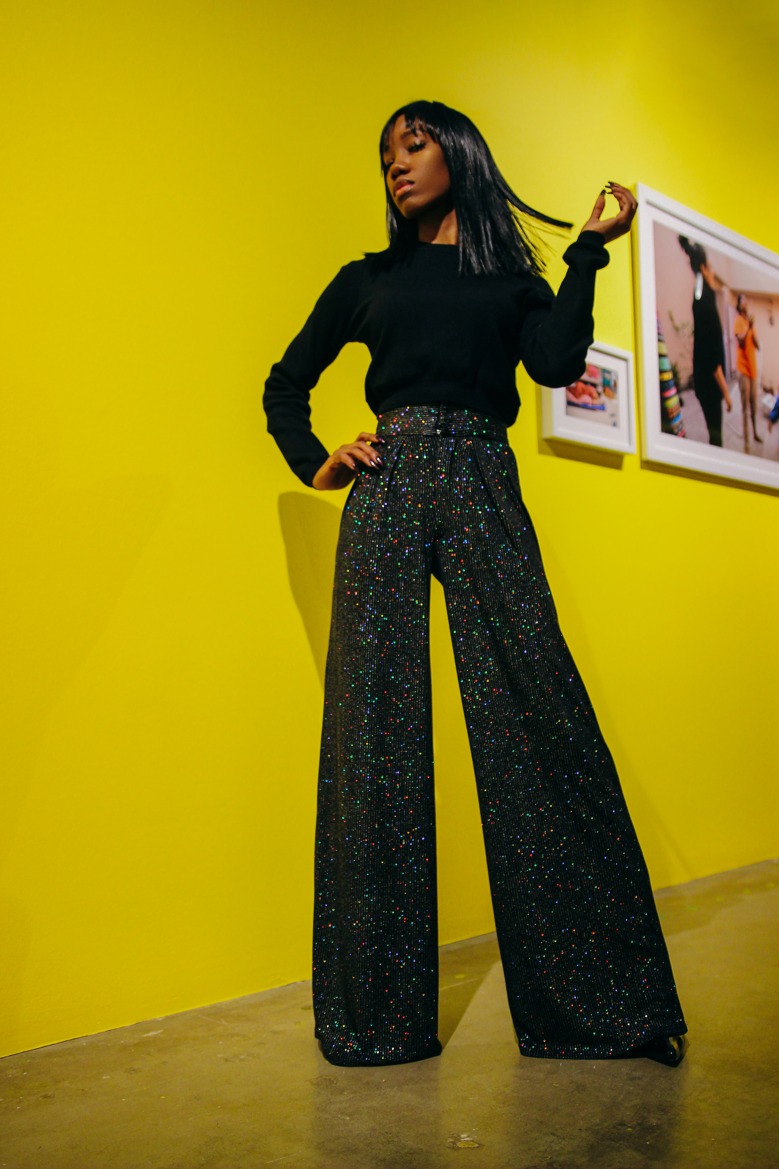 Pants:   Kloset Envy  ||  Top:   Forever XXI ||  Shoes:  Random Boutique Off South Street in Philly