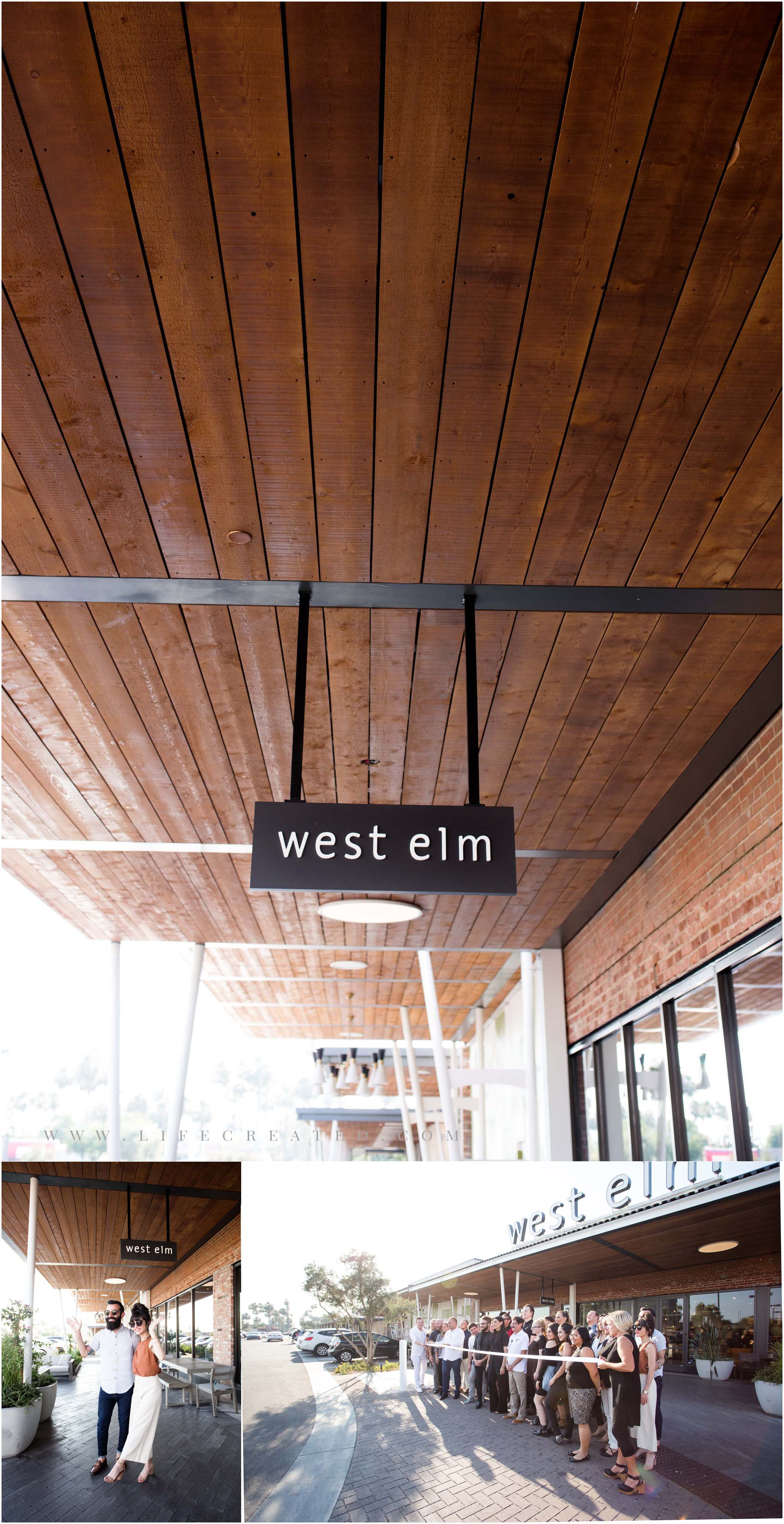 west elm grand opening