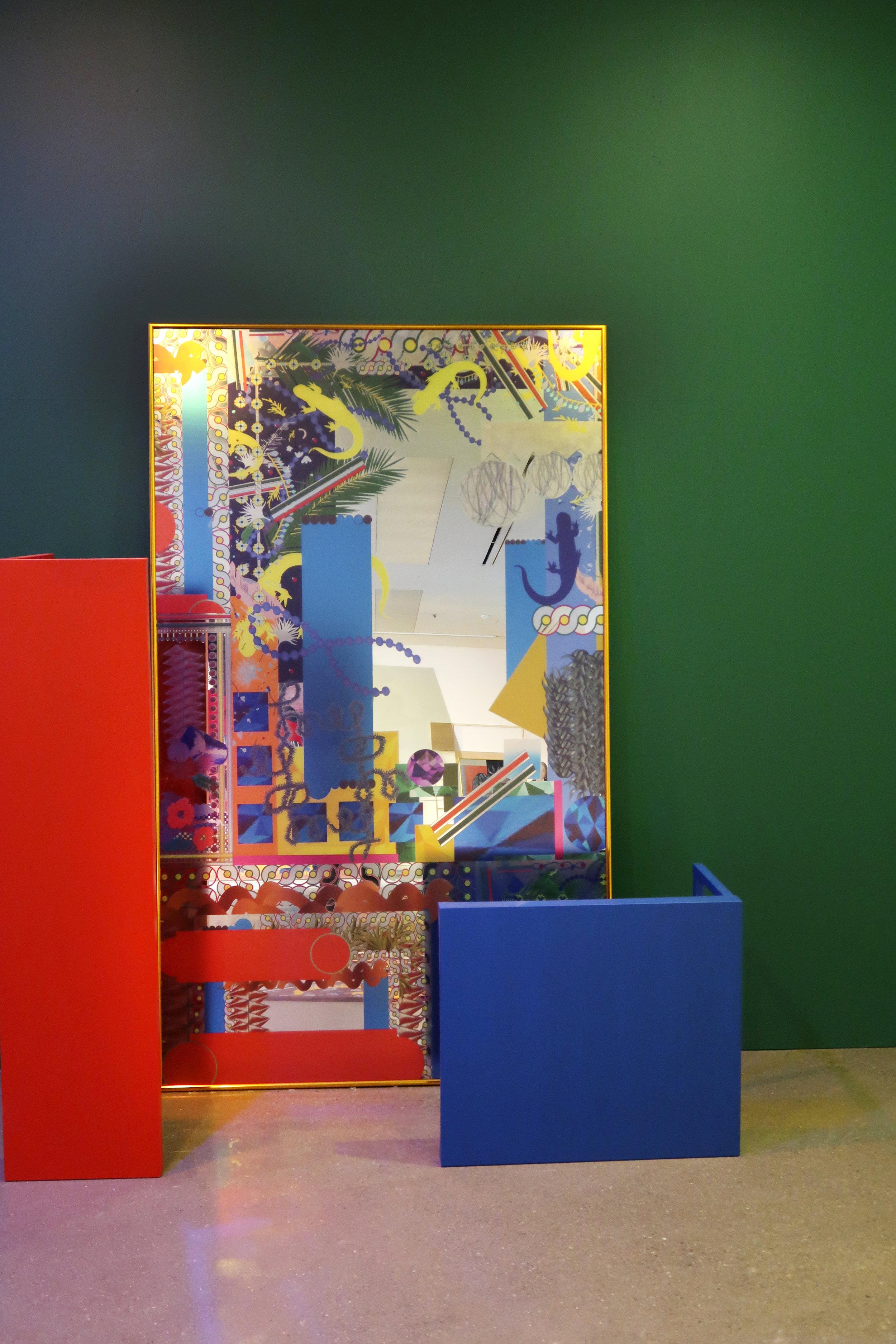 Jewel Garden, 1000mm * 2000mm, Mirror