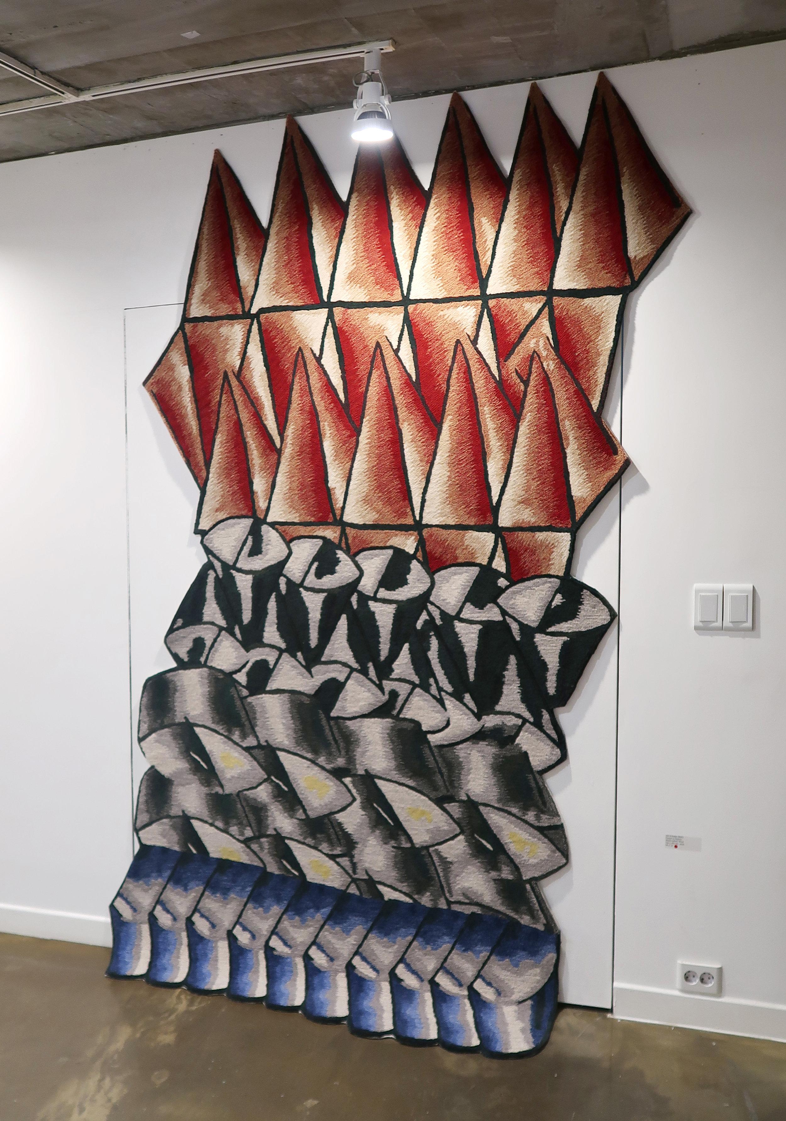 Carpet as Desert 1, 1900mm * 2800mm, Wool, Hand-tufted Carpet