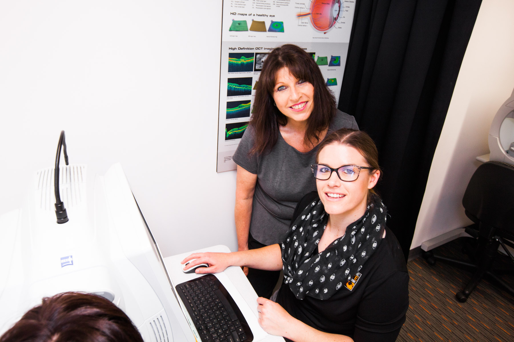 Visual field analysis at Eyre Eye Centre