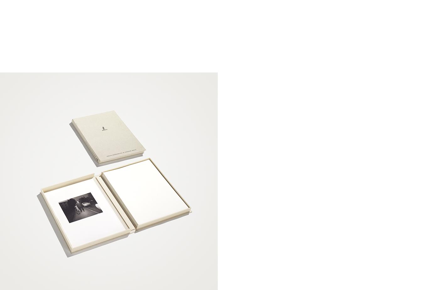 Pedestrians  12 Platinum Palladium Prints Signed on Verso Canvas Clamshell Box
