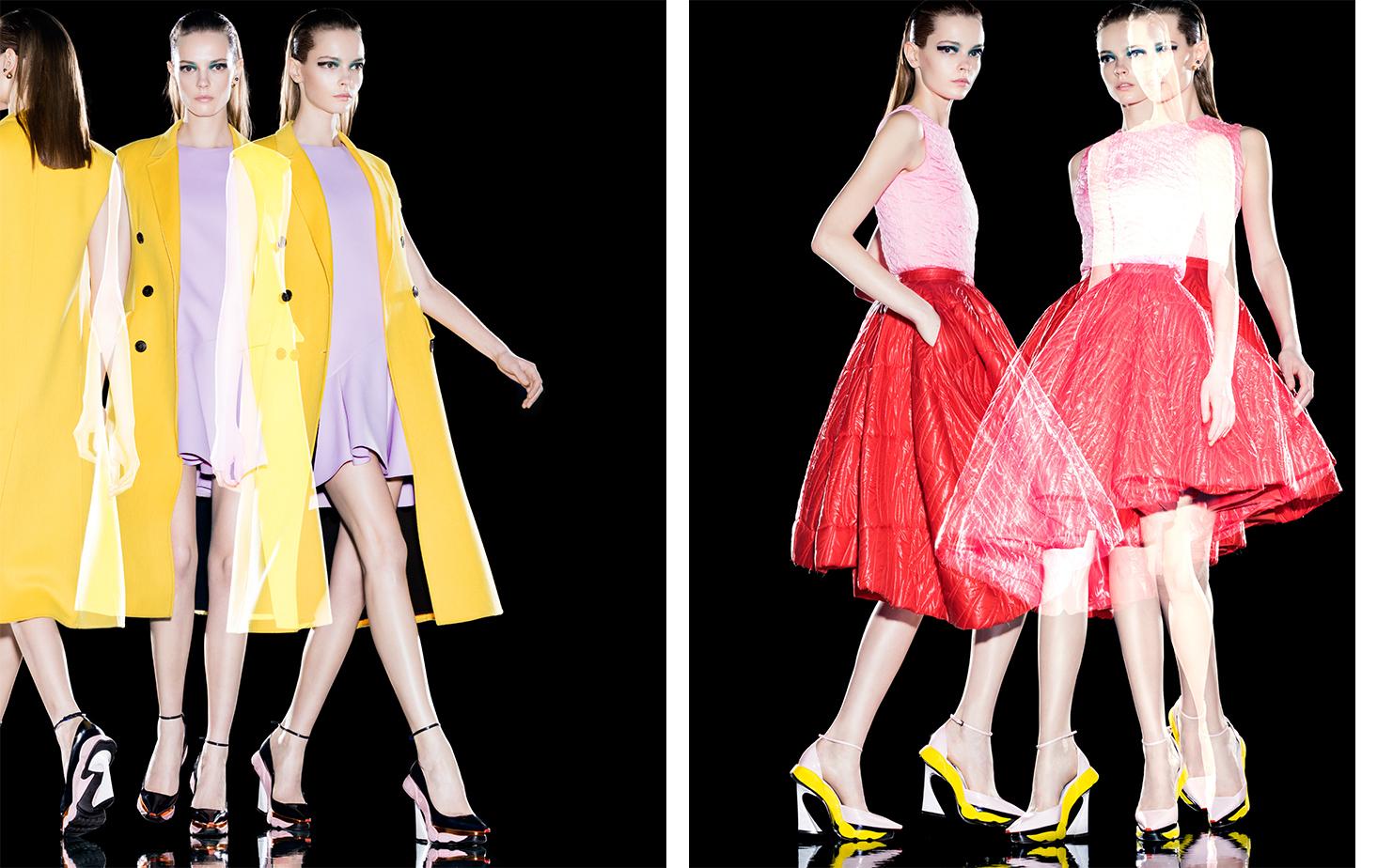 Dior Magazine FEMININE PLURALITY   STYLIST Elissa Santisi MODEL Mina Cvetkovic