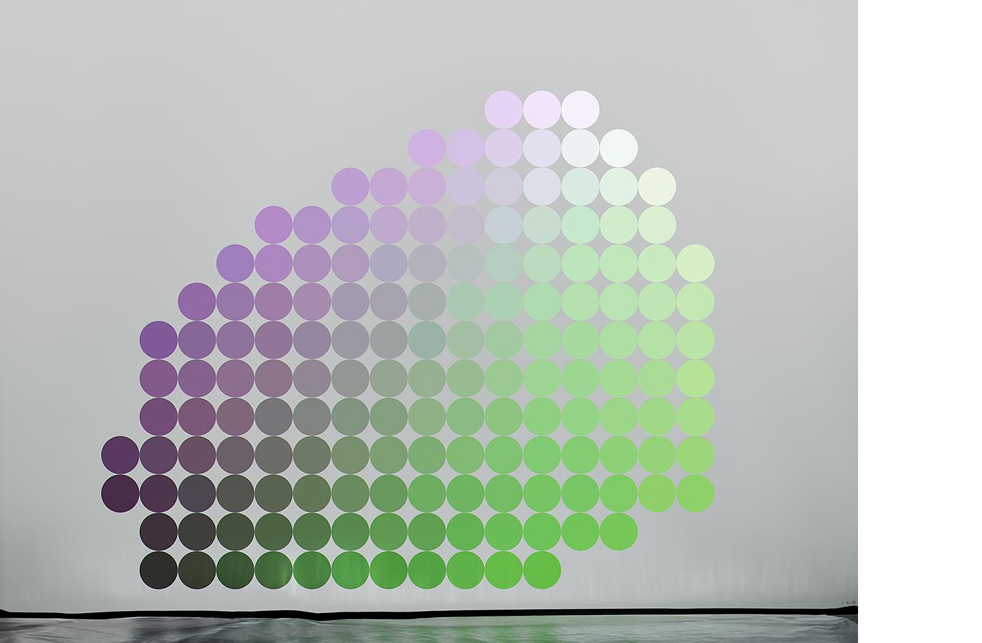 4111-07 Uniform Color Space #07  Pigment Print 5.25 x 7.00 inch Image Size 8.50 x 11.00 inch Paper Size 3 EDP / 4 AP