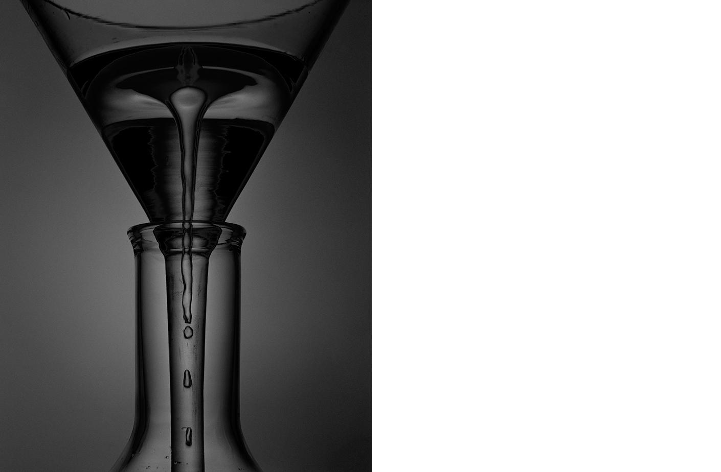 6452-04 Physics - Funnel  Platinum Palladium Print 13.06 x10.31 inch Image Size 16.88 x 22.13 inch Paper Size 1 BAT / 1 PP /2 AP / 24 EDP