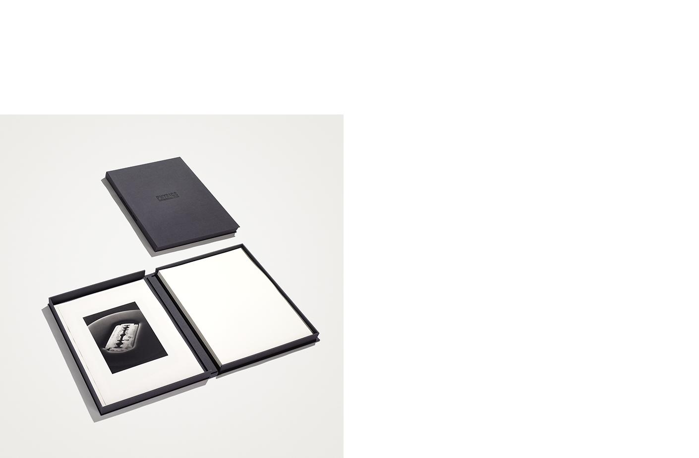Physics  12 Platinum Palladium Prints Signed on Verso Canvas Clamshell Box