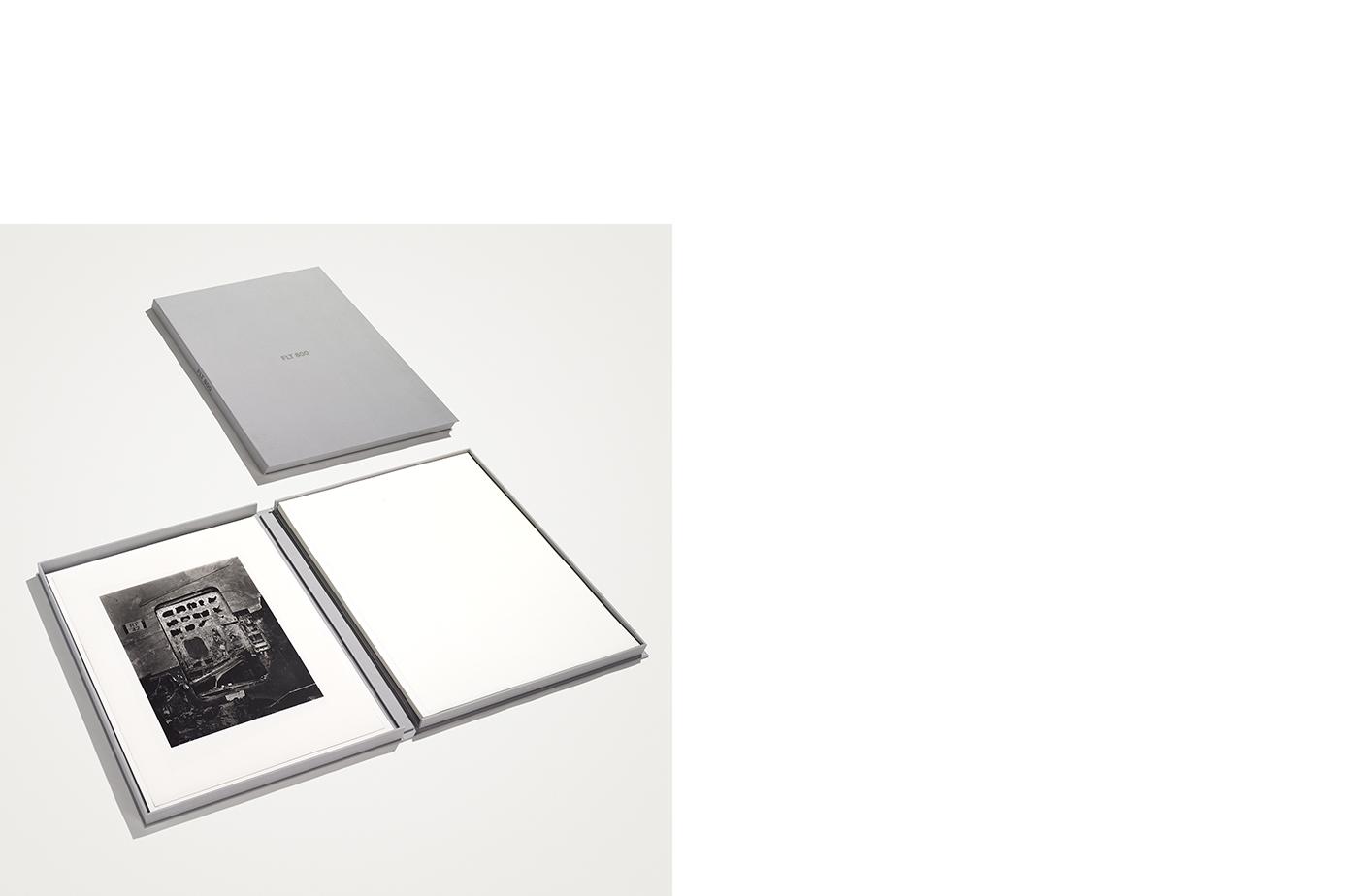 FLT 800  12 Platinum Palladium Prints Signed on Verso Canvas Clamshell Box