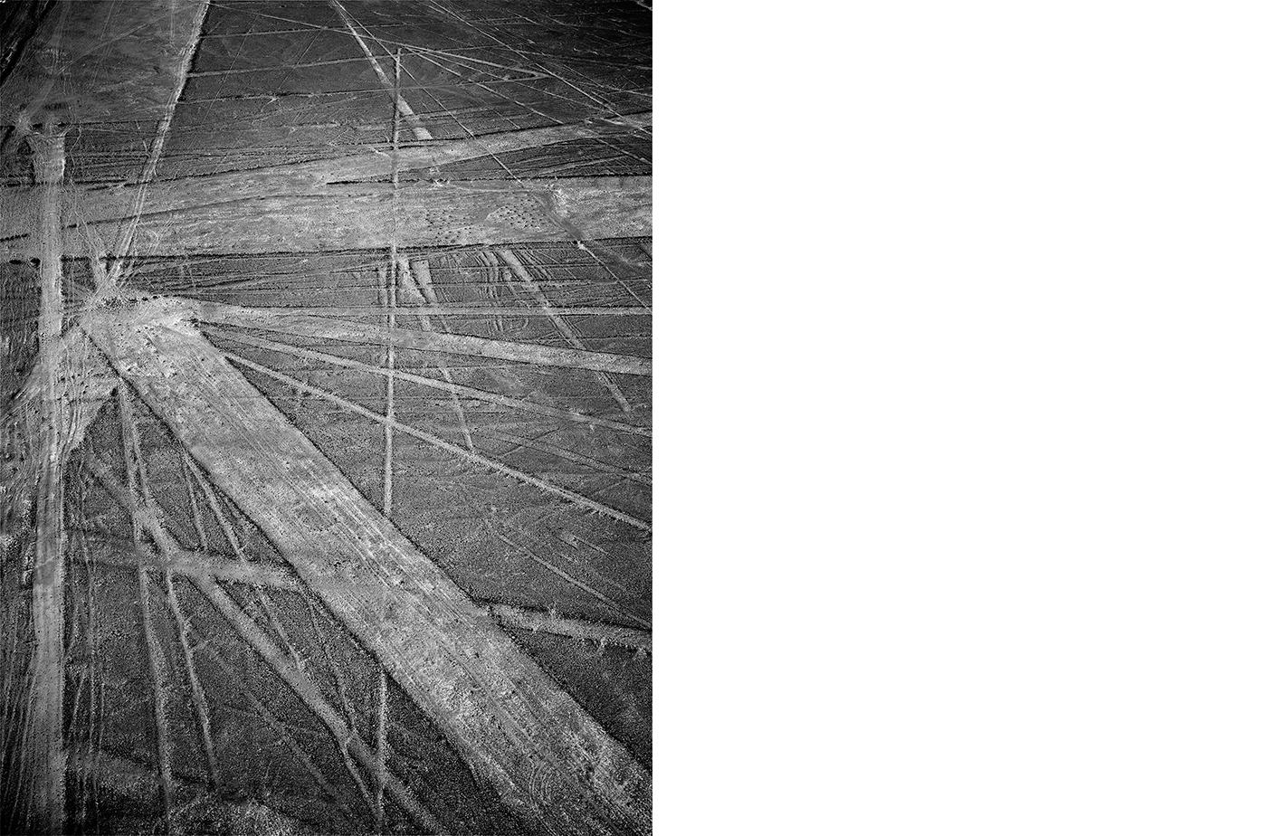 6752-01 Nasca #027  Platinum Palladium Print 12.46 x 16.00 inch Image Size 17.00 x 22.00 Paper Size 1 BAT / 1 PP /2 AP / 6 EDP