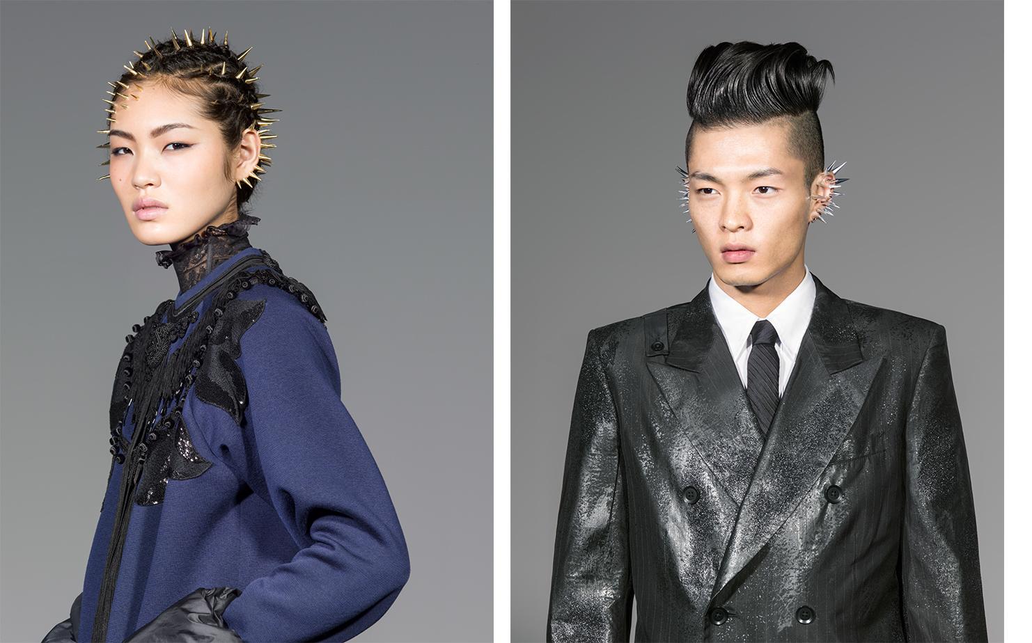 Vogue Japan THE POWER OF HAIR   BEAUTY DIRECTOR Kathy Phillips MAKE UP & HAIR Katsuya Kamo