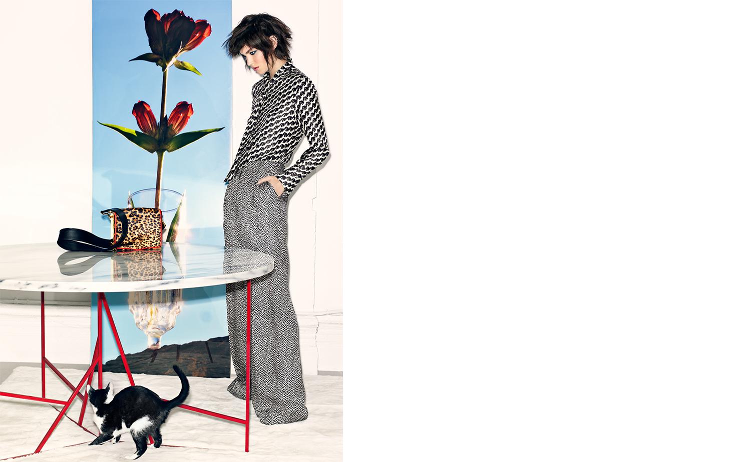 Vogue CAT'S MEOW   FASHION EDITOR Elissa Santisi MODEL Arizona Muse