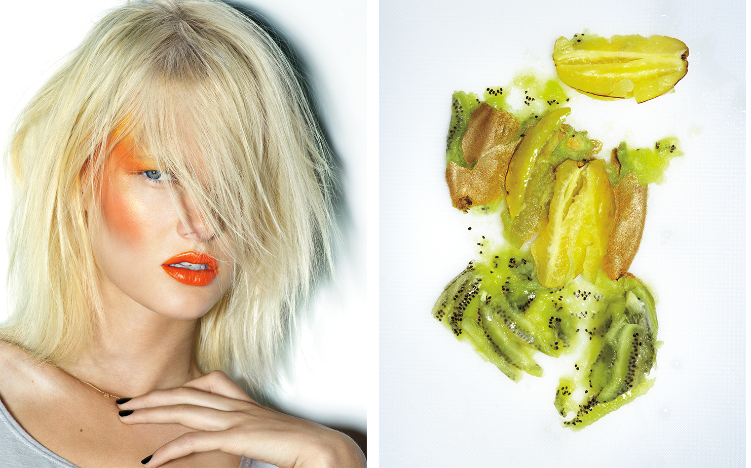 Vogue Nippon THE FRUITS OF BEAUTY   MAKE UP Jeanine Lobell HAIR Shay Ashul