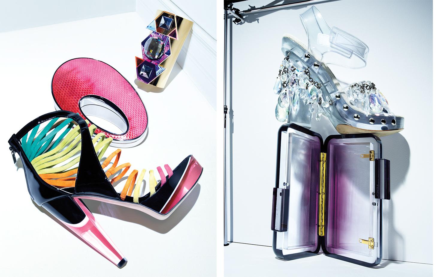 British Vogue POWER PLAY   CREATIVE DIRECTOR Robin Derrick FASHION EDITOR Miranda Almond