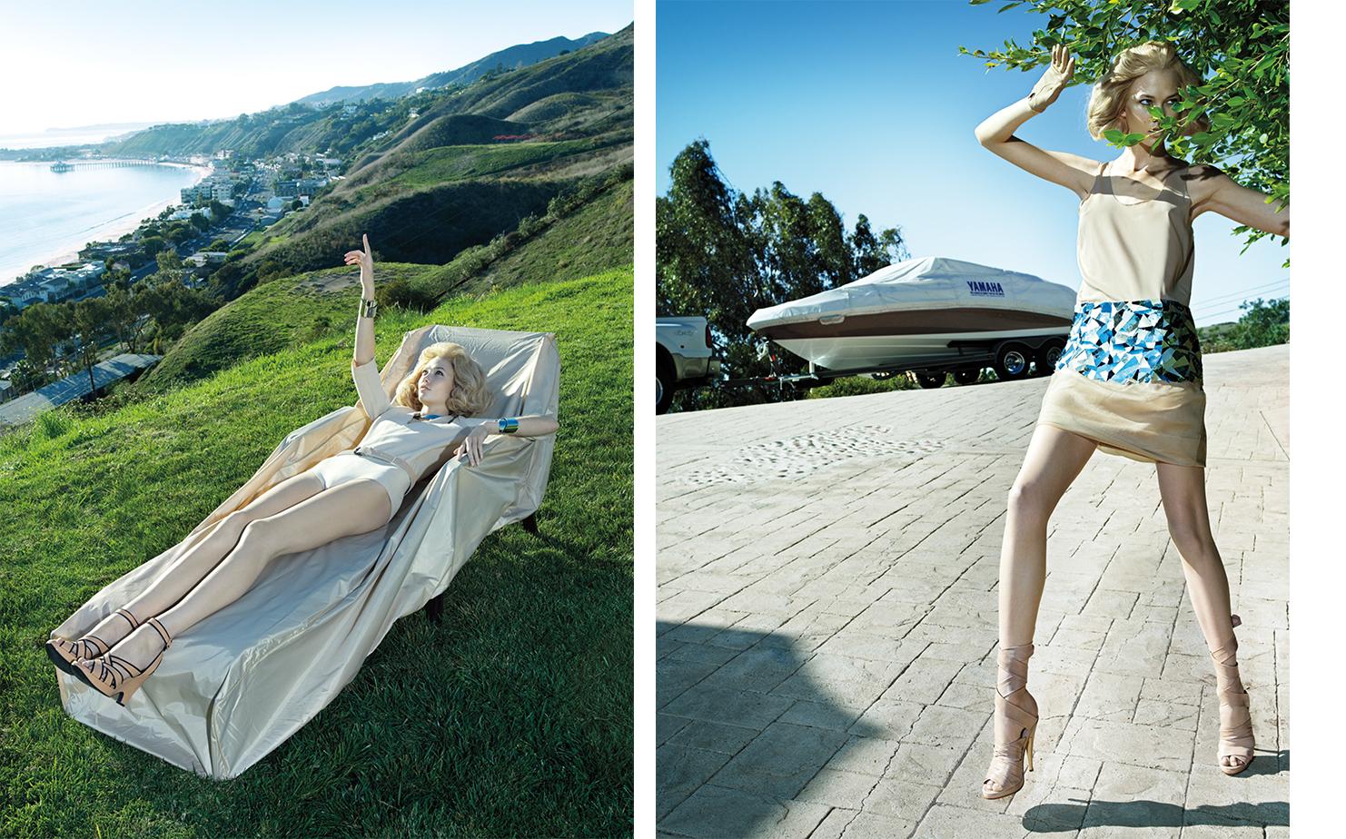 Vogue LAID BARE   FASHION EDITOR Elissa Santisi MODEL Karlie Kloss