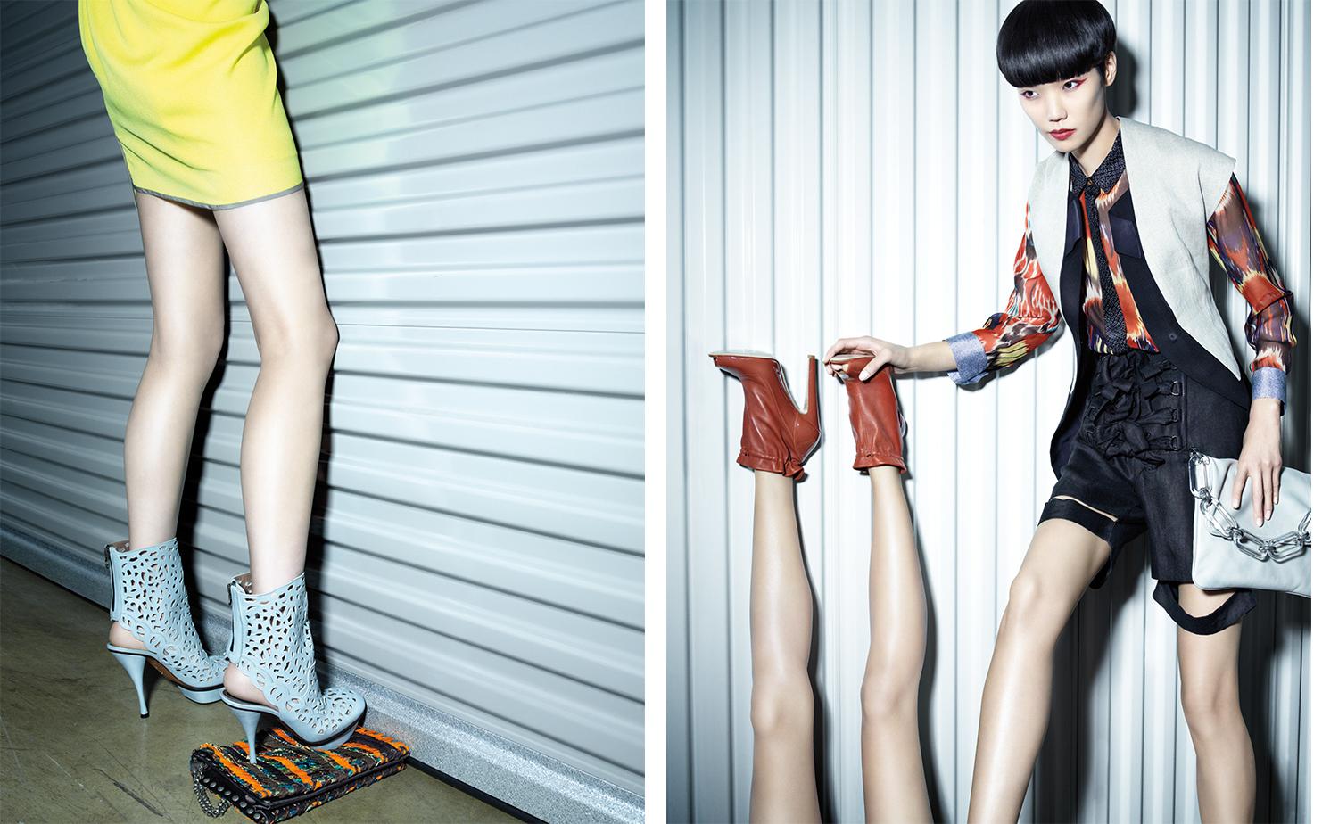 Vogue UNPUBLISHED   FASHION EDITOR Elissa Santisi MAKE UP Lisa Houghton