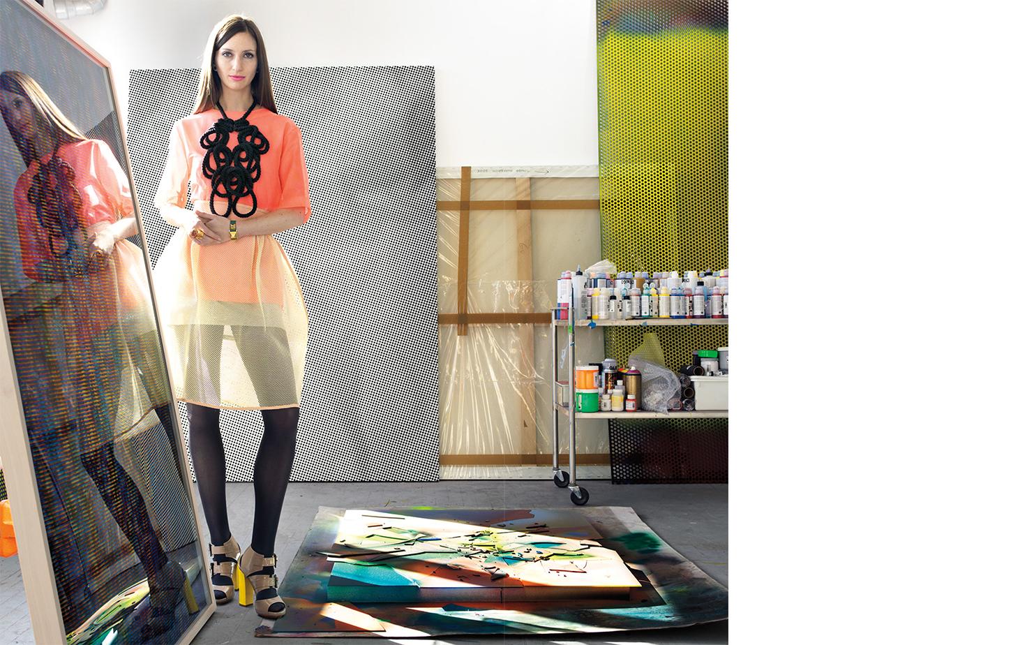 Vogue OPTIC NERVE   FASHION EDITOR Katherine Neale ARTIST Tauba Auerbach