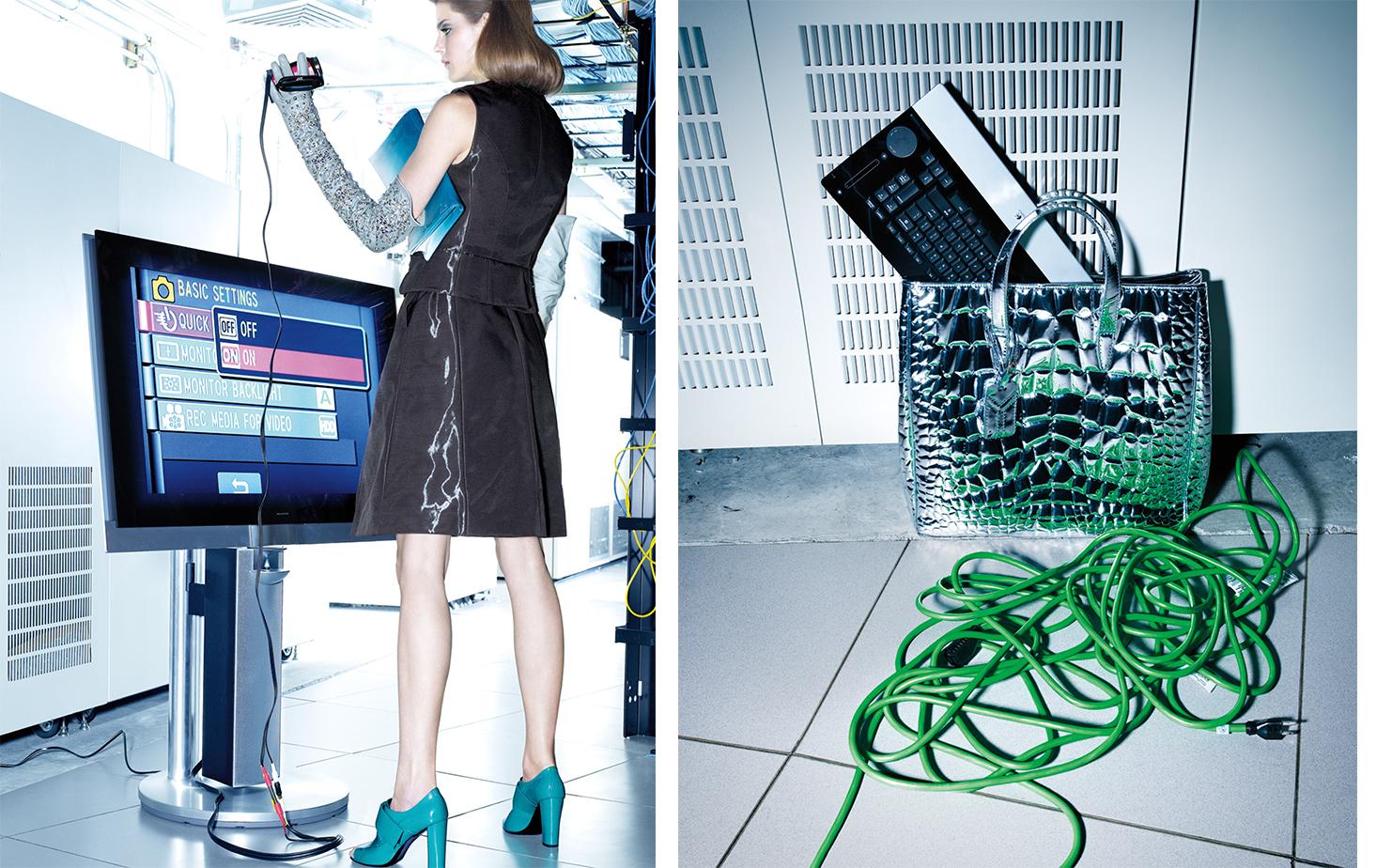 Vogue LET'S GET DIGITAL   FASHION EDITOR Elissa Santisi MODEL Shannon Click