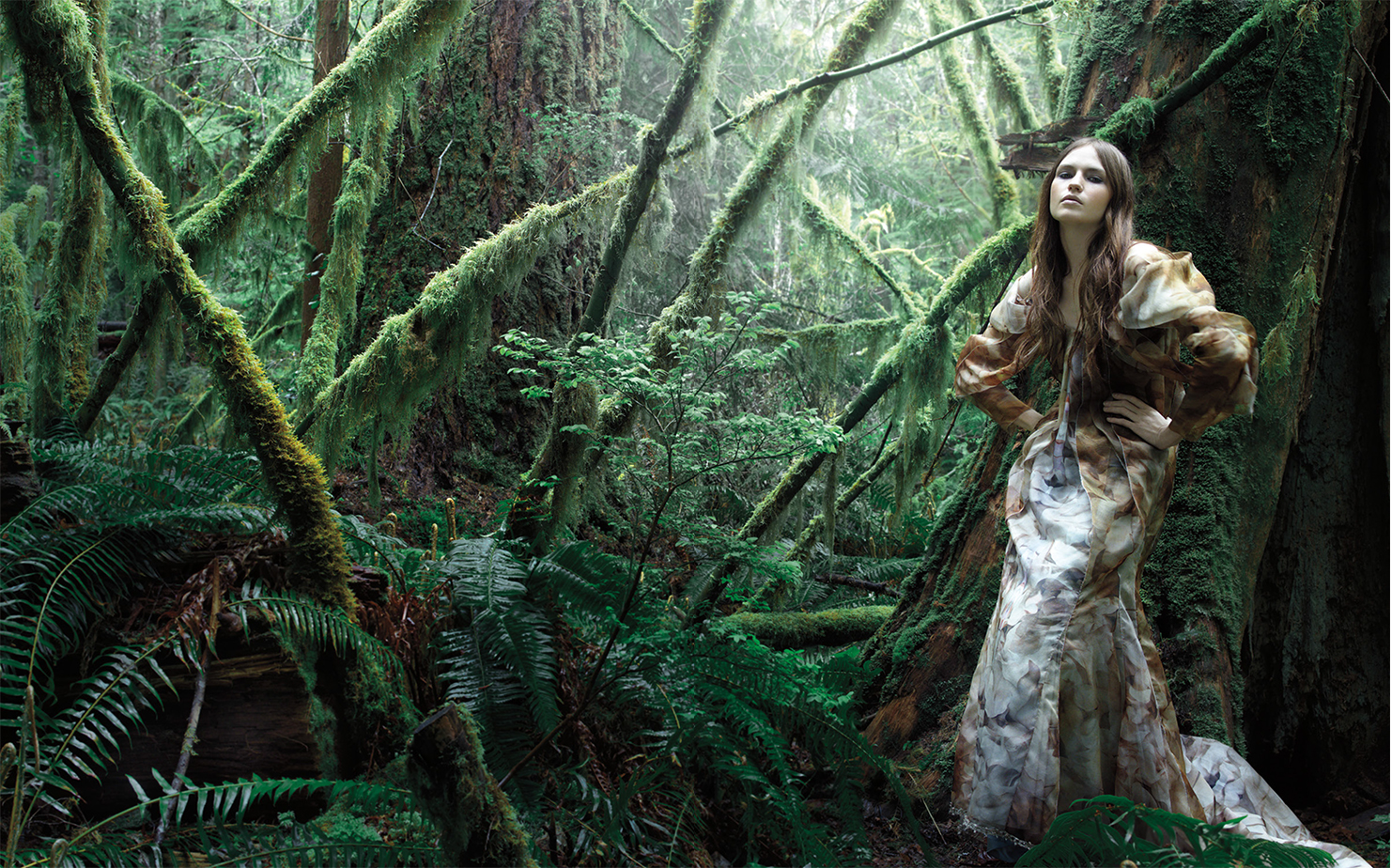 T Magazine GETTING PRIMEVAL   FASHION EDITOR Tiina Laakkonen MODEL Rachel Clark