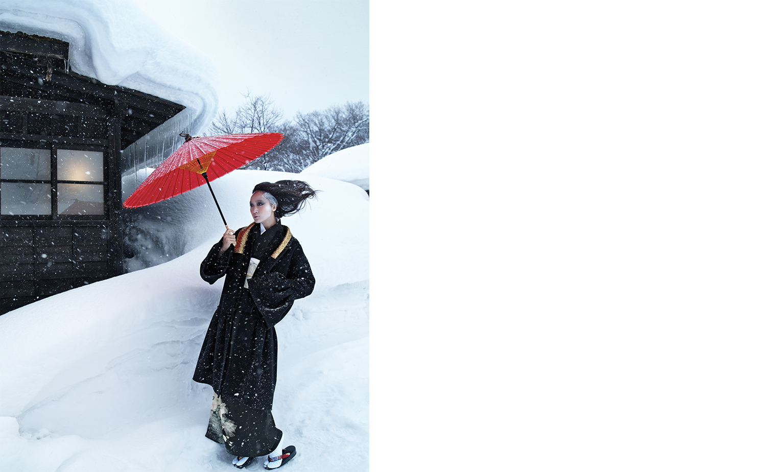 T Magazine SNOW BOUND   ART DIRECTOR David Sebbah FASHION EDITOR Tiina Laakkonen