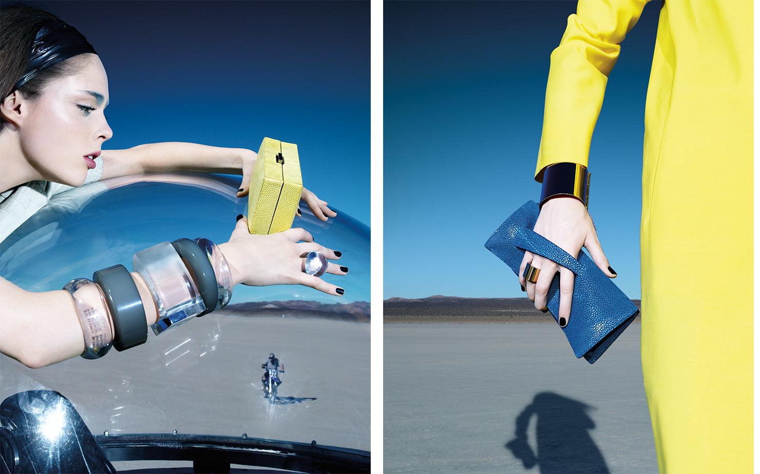 Vogue CARRY THE DAY   FASHION EDITOR Elissa Santisi MODEL Coco Rocha