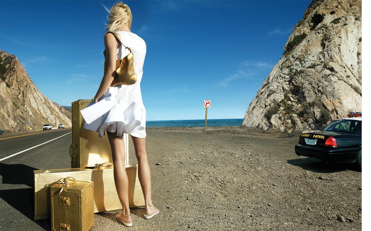 Vogue PEDAL TO THE METAL   FASHION EDITOR Elissa Santisi PHOTO DIRECTOR Ivan Shaw
