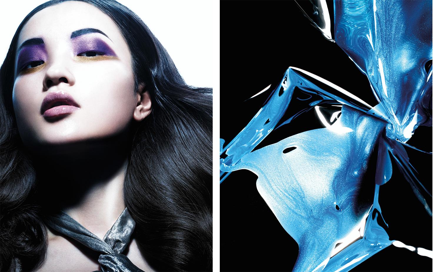 Vogue China HI-TECH COSMETICS   FASHION EDITOR Tiina Laakkonen MAKE UP Fulvia Farolfi