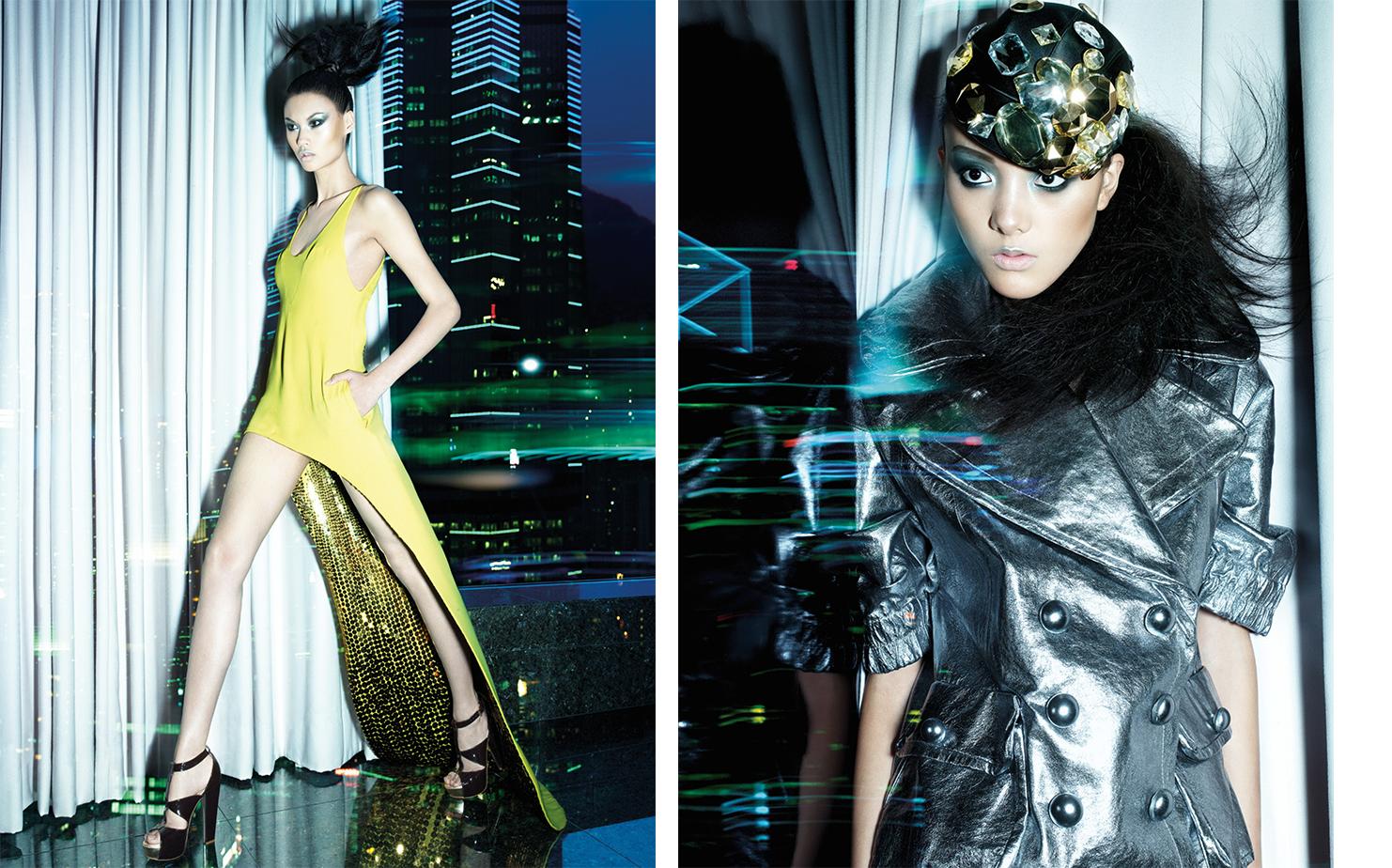 Vogue China NEON GLAMOUR   FASHION EDITOR Tiina Laakkonen