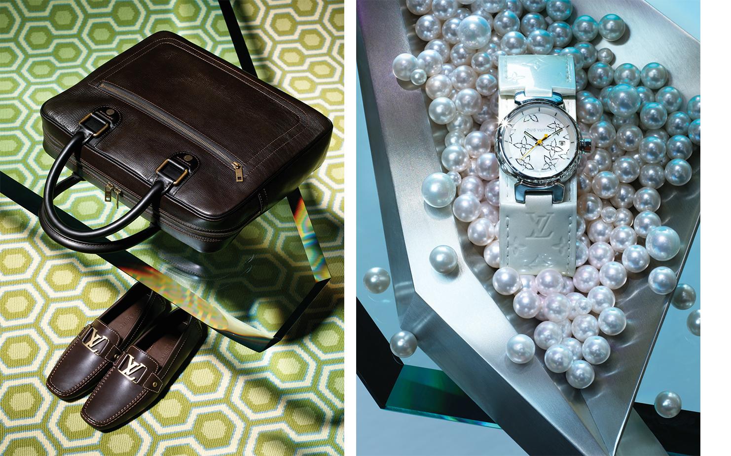 Louis Vuitton   AGENCY Betc Euro Rscg ART DIRECTOR Isabelle des Garets