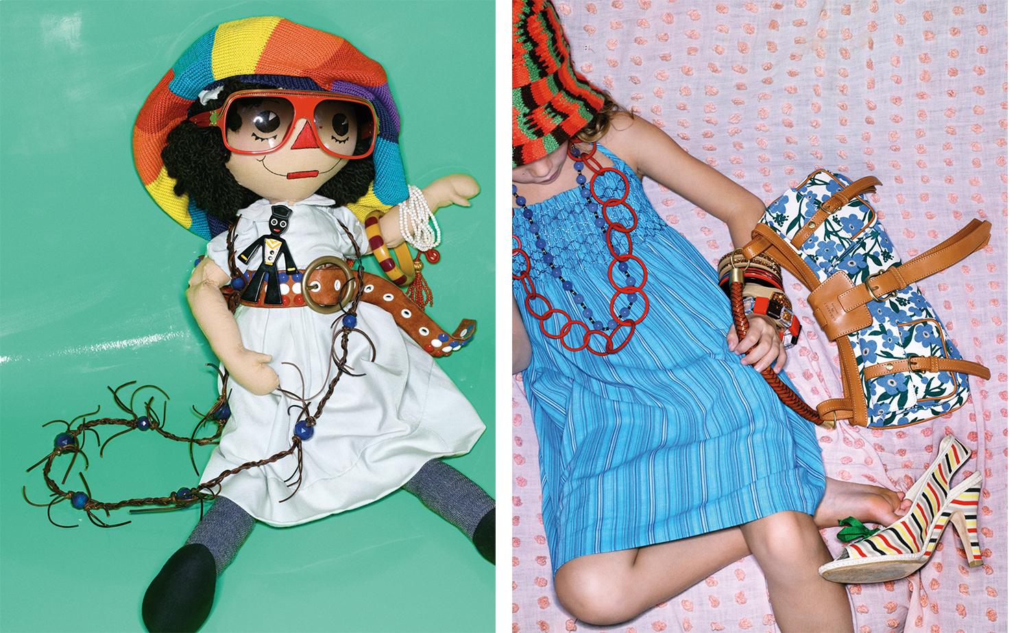 Vogue DOLLED UP   FASHION EDITOR Elissa Santisi SET DESIGN Mary Howard Studio