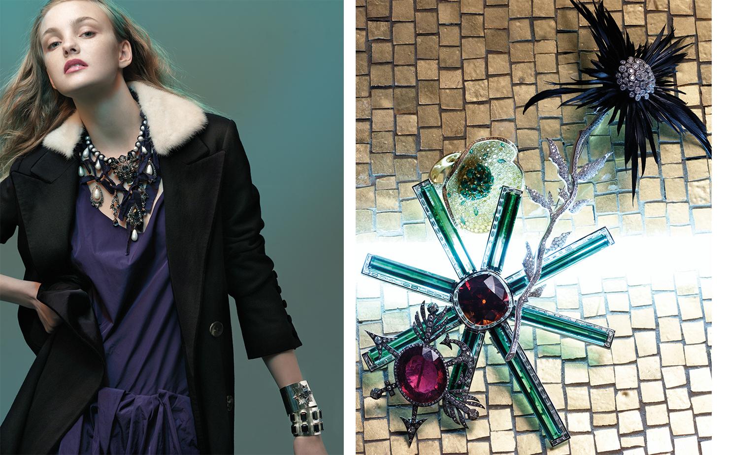 Vogue AGELESS   FASHION EDITOR Elissa Santisi SET DESIGN Bill Doig