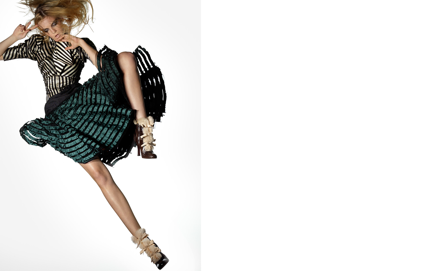 Vogue THE RIGHT STUFF   FASHION EDITOR Elissa Santisi MODEL Caroline Trentini