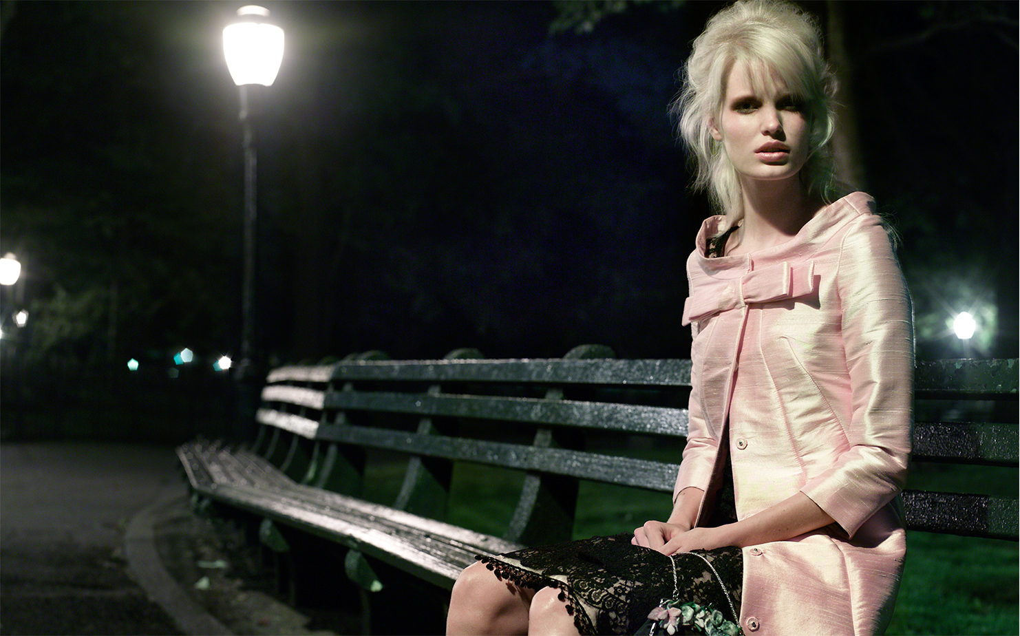 Vogue Japan WALKING AFTER MIDNIGHT   FASHION EDITOR Aiko Tanaka MODEL Caroline Winberg