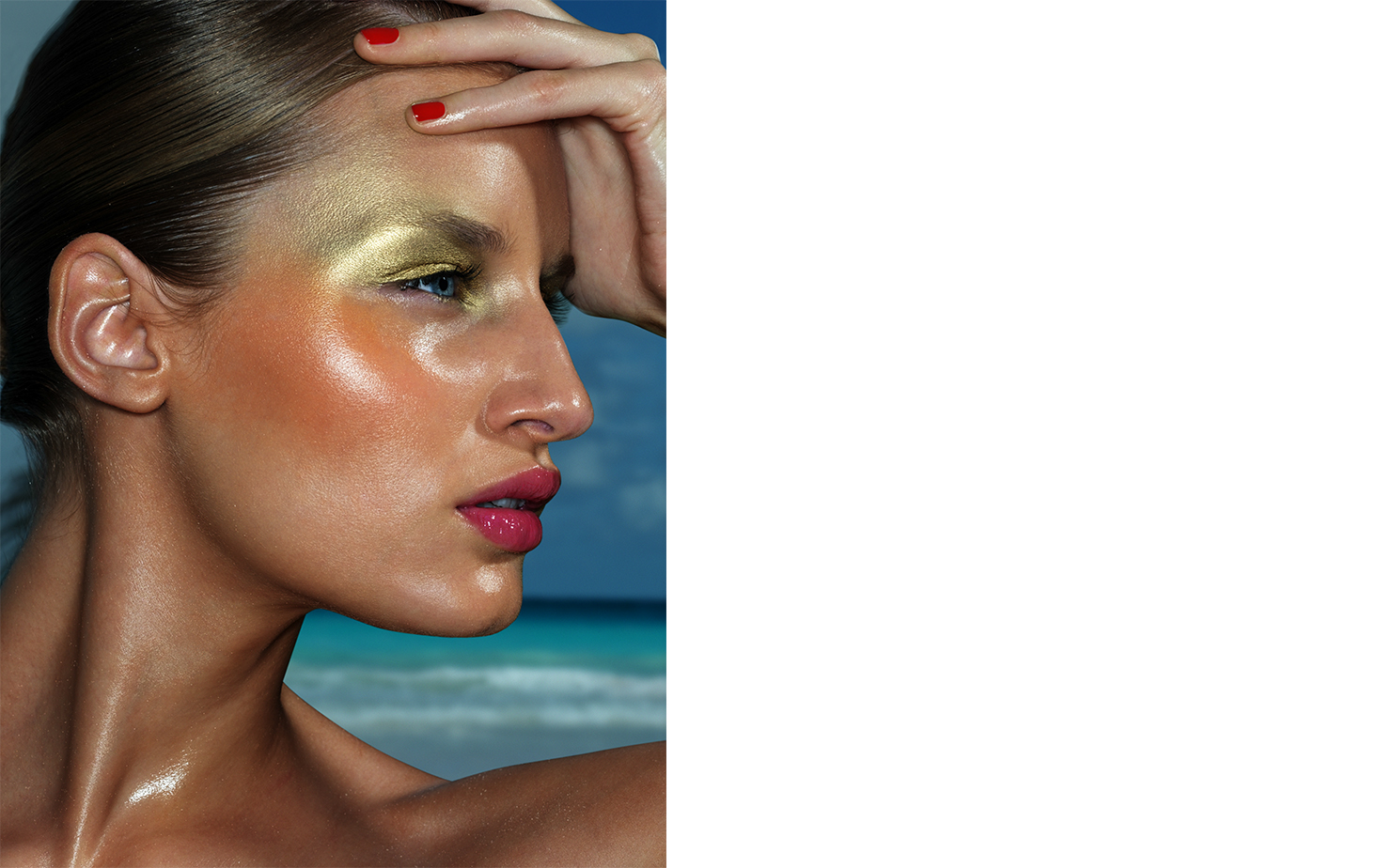 Flair MAKE UP COLORE   FASHION EDITOR Tiina Laakkonen MAKE UP Christian McCulloch